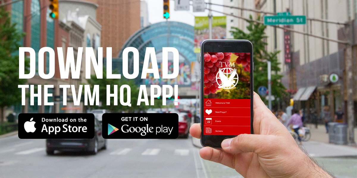"Download the TVM HQ App on both Android and Apple Devices! Simply search ""TVM HQ"" on both stores and enjoy!"